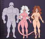 Nude refs - Jiren and Good 21 by Terrors-of-Nova