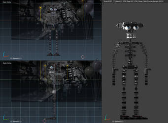 final wip before rigging by Brickyboy99