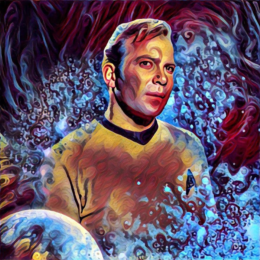 Star Trek Kirk by rickuk73