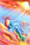 Rainbow Dash: Through the Clouds - BEST PONY