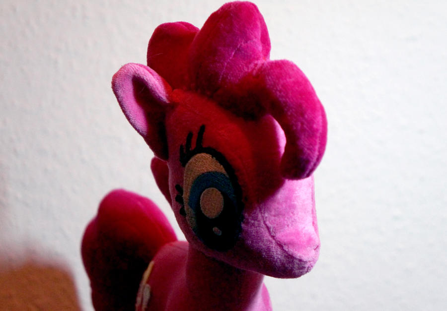 Pinkie Pie Plushie V2.0 -Shot2 by Rariedash