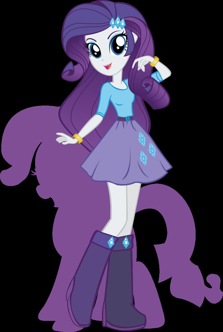 Equestria Girls: Rarity Minecraft Skin