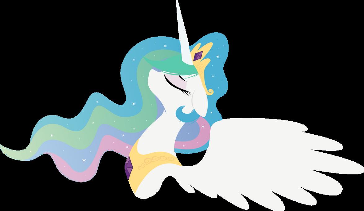 Princess Celestia - with some sparkles by Rariedash