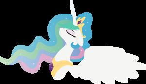 Princess Celestia - with some sparkles
