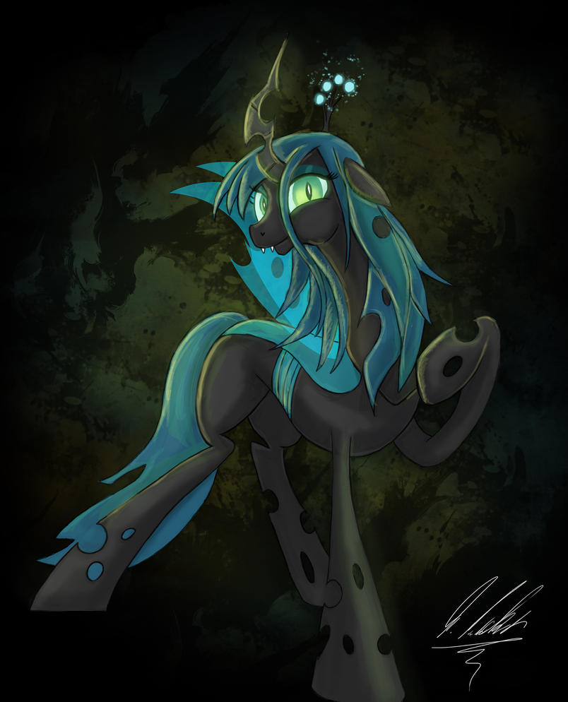Queen Chrysalis by Rariedash