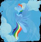 Rainbow Dash - Reach the Sky