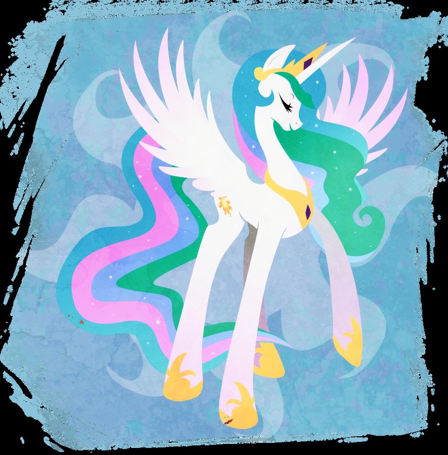 Celestia - Princess of the Day by Rariedash