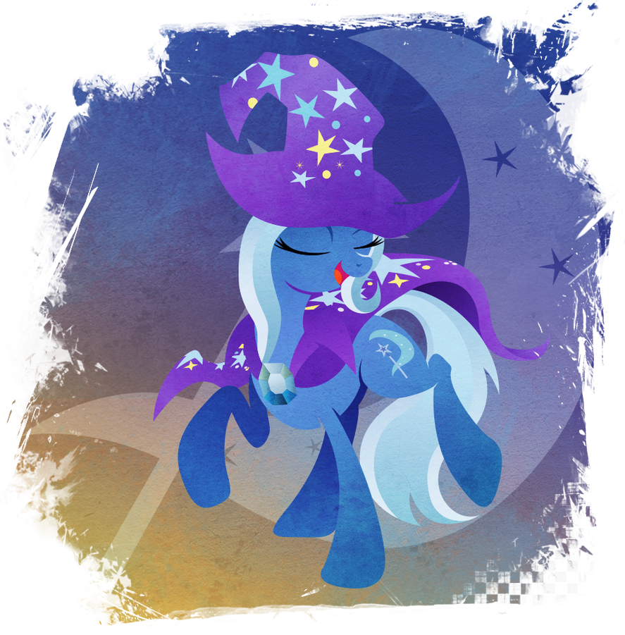 Trixie - Great and Powerful by Rariedash
