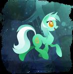 Lyra Heartstrings - Handsome Pony