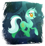 Lyra Heartstrings - Handsome Pony