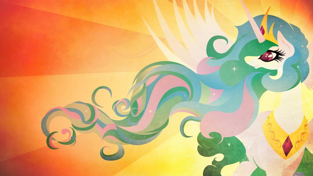 Princess Celestia - Praise the Sun by Rariedash