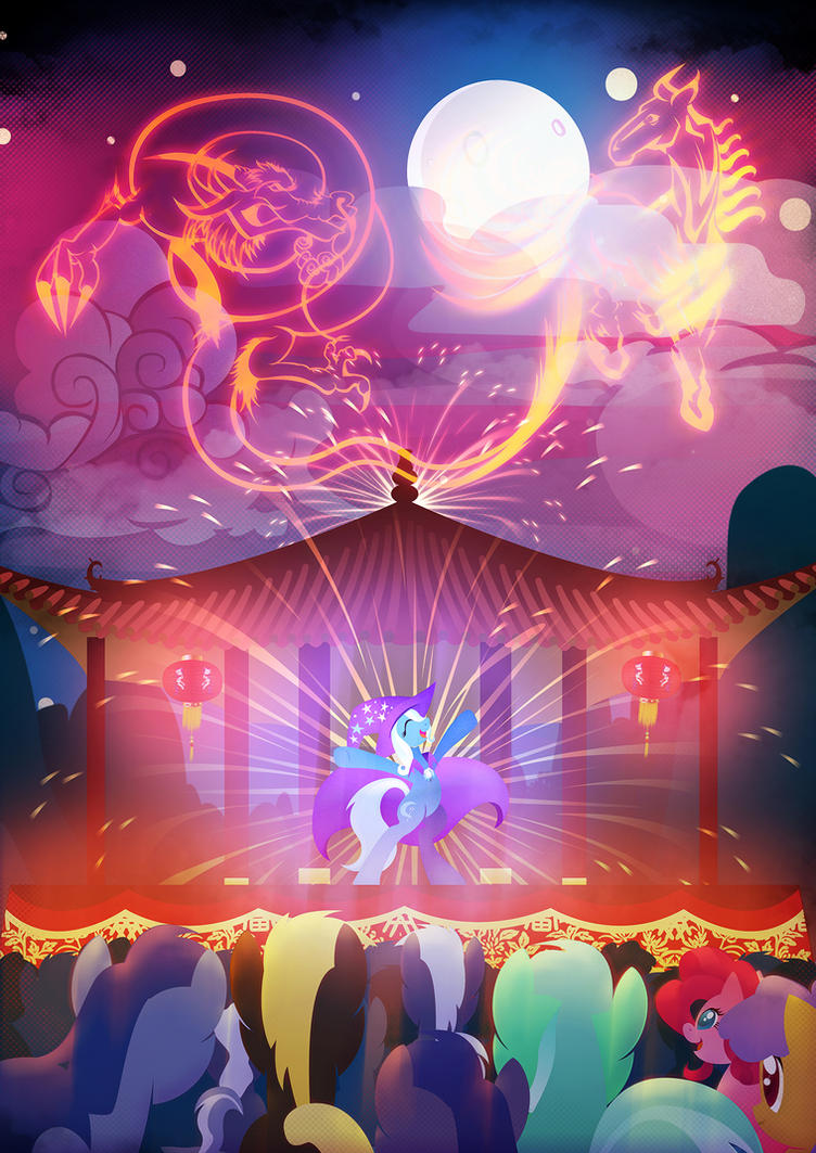Year of the Horse - Poster Edition by Rariedash