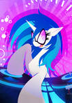 Vinyl Scratch / DJ Pon3 - adequate volumen