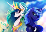 Sisters of Canterlot by Rariedash