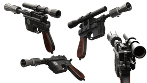STAR WARS DL-44 heavy blaster pistol