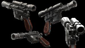STAR WARS DL-44 heavy blaster pistol by Rariedash
