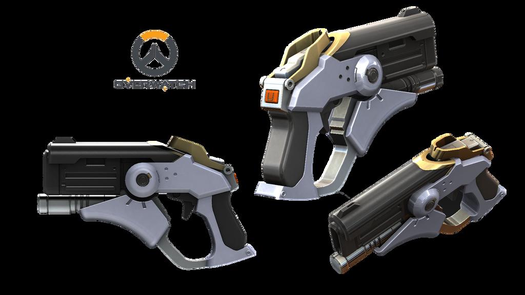 updated energy gun Overwatch___caduceus_blaster_by_rariedash-da2f1z0
