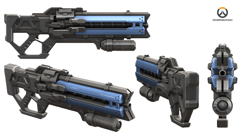 Soldier 76 Gun - Overwatch by Rariedash on DeviantArt