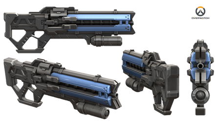 Soldier 76 Gun - Overwatch
