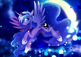 Princess Luna - Moonlight flight