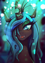 Queen Chrysalis - oh hello there