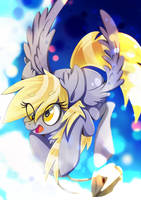 Derpy - Delivery service by Rariedash