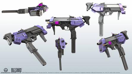 Machine Pistol - Overwatch Sombra