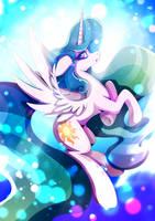 Princess Celestia by Rariedash