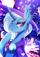 Trixie - Back to business by Rariedash