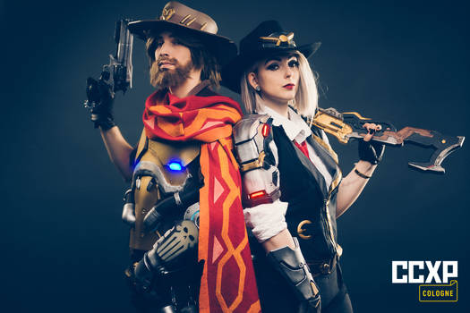 Overwatch Cosplay - McCree and Ashe