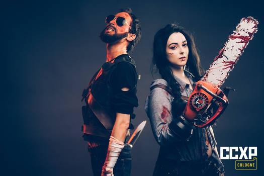 Cosplay - Red Miller (Mandy) - Ash (EvilDead)