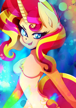 Sunset Shimmer - Be colorful