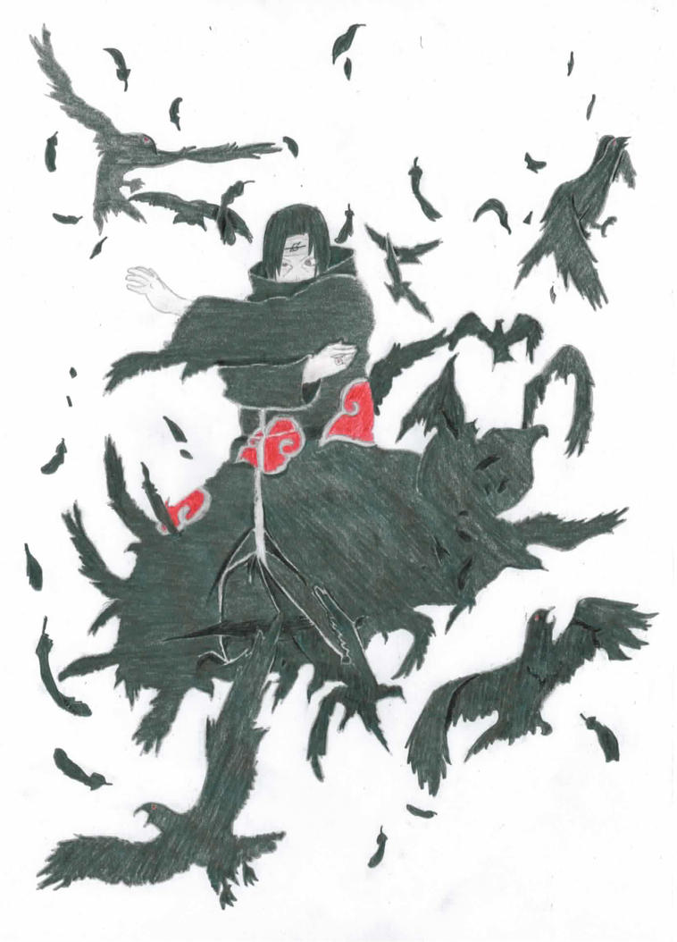 Itachi Uchiha - Crows by Otamatsu on DeviantArt