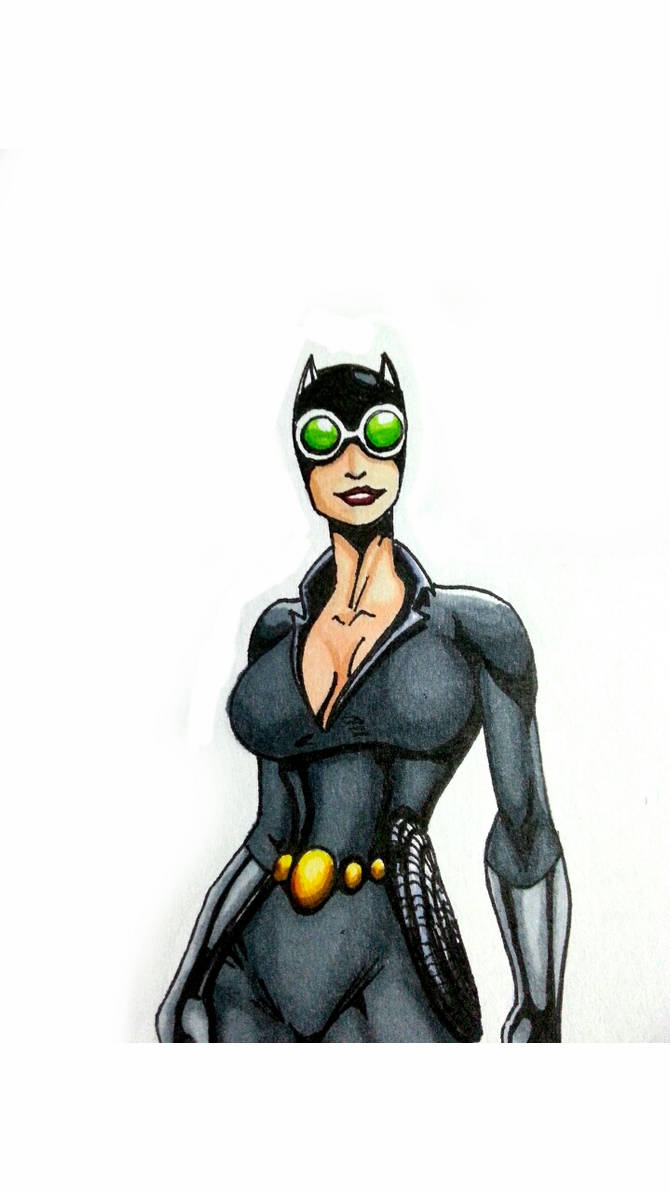 Catwoman Quick Sketch