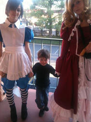 Ciel and Elizabeth cosplay - Child