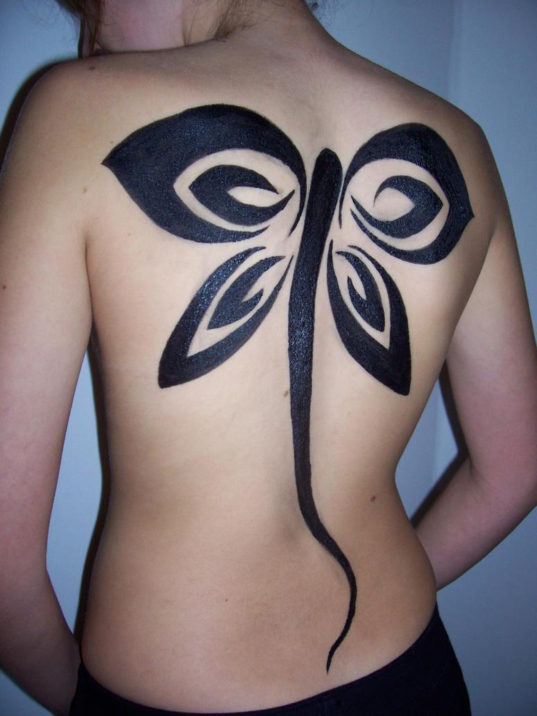 Moni's Dragonfly - 3 - dragonfly tattoo