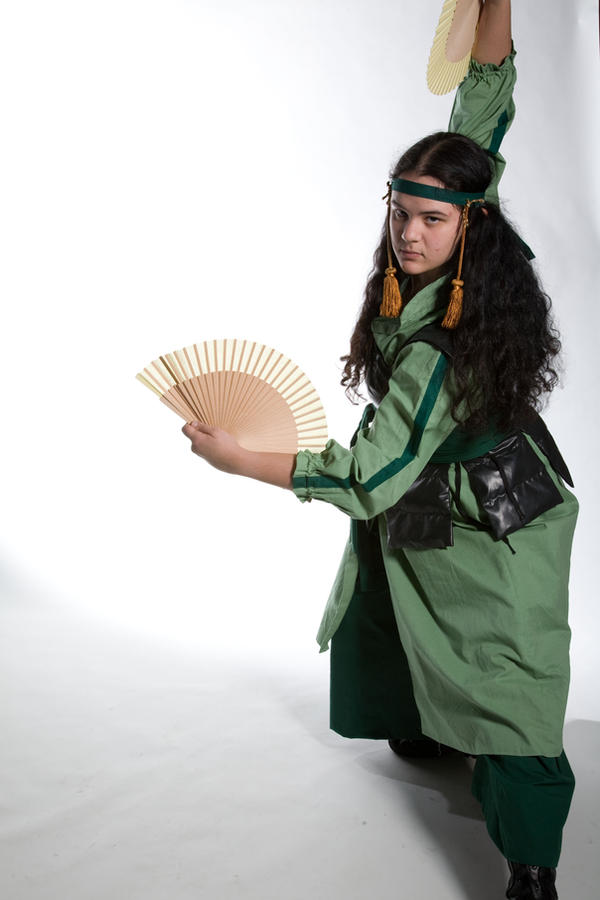 Kyoshi Warrior by lovelyverdigris