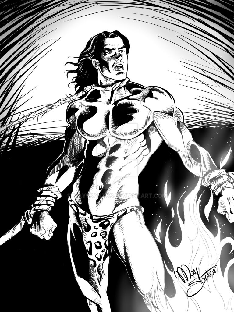 Tarzan1 by MaysSantos