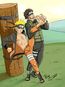 Naruto and Kiba/Tickle