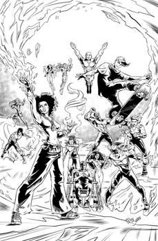 Young Legion, characters of Rodrigo Pie.