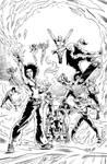 Young Legion, characters of Rodrigo Pie. by MaysSantos
