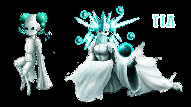 Tia - Celestial Queen - OC