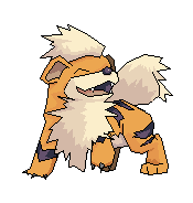 Growlithe on MS paint :3 by EleanorAnsell