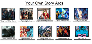 Justice League: SPIRITS- Core Story Arcs