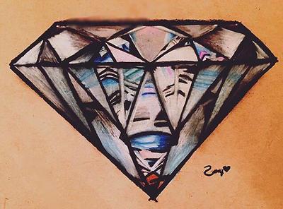 Shine Bright Like a Diamond by zoeyjenae