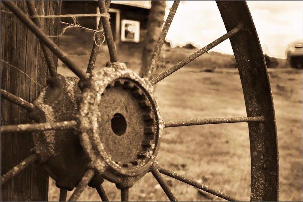 The Old Rugged Wheel by zoeyjenae