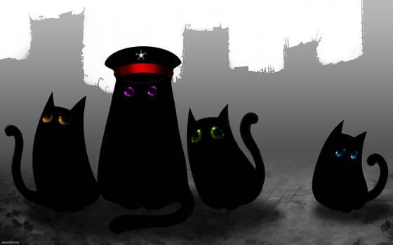 Four cats of apocalypse