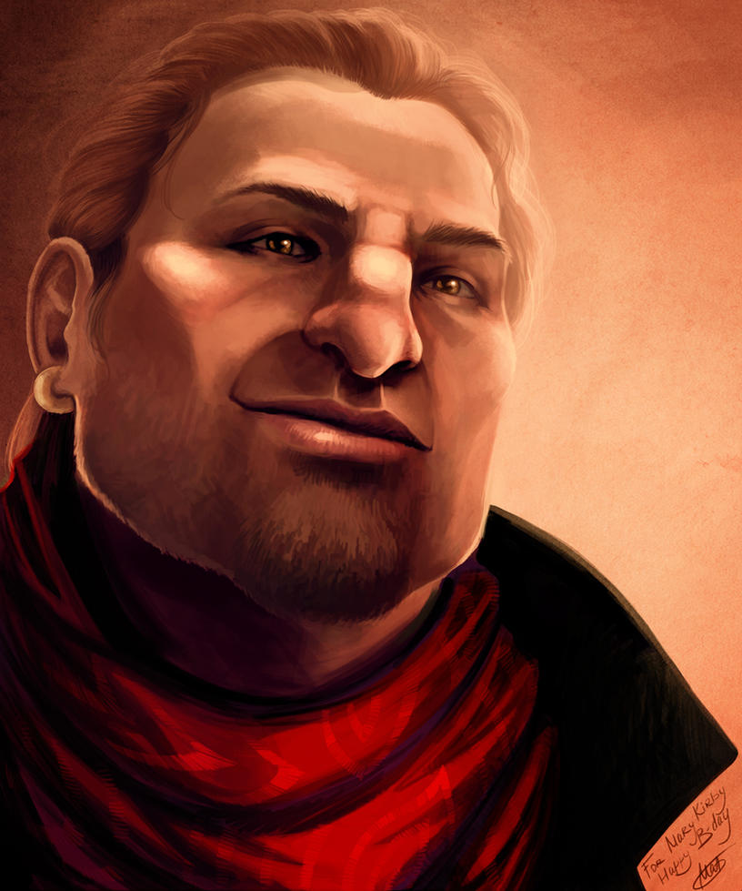 Varric Tethras for Mary Kirby by Kitao-chan