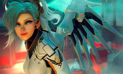 OverWatch. Mercy. by Mabiruna