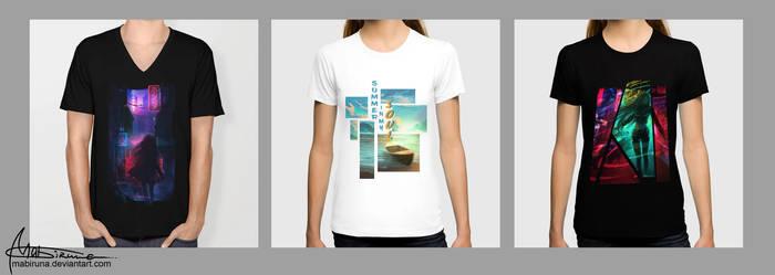 trying t-shirt design
